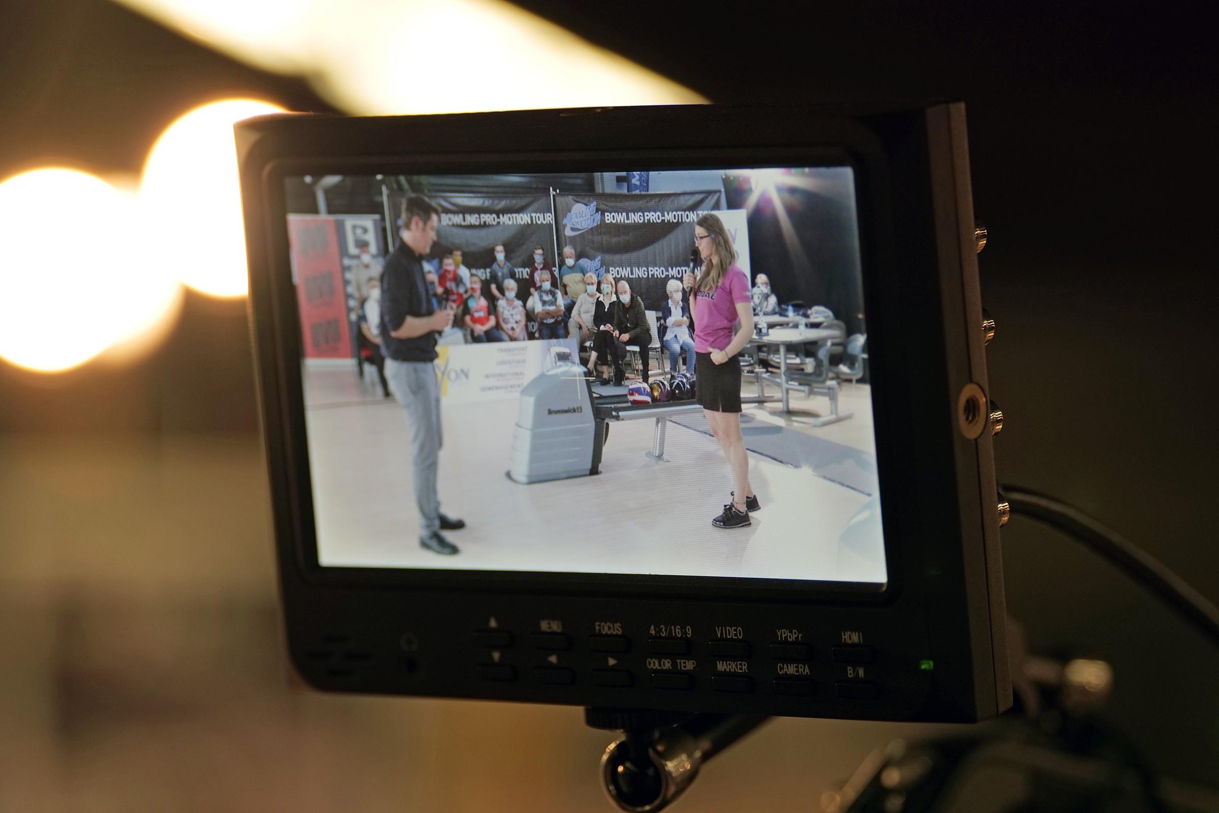 TV Interviews Bruno Bidone & Daria Pajak (Photo Ruel Alain)