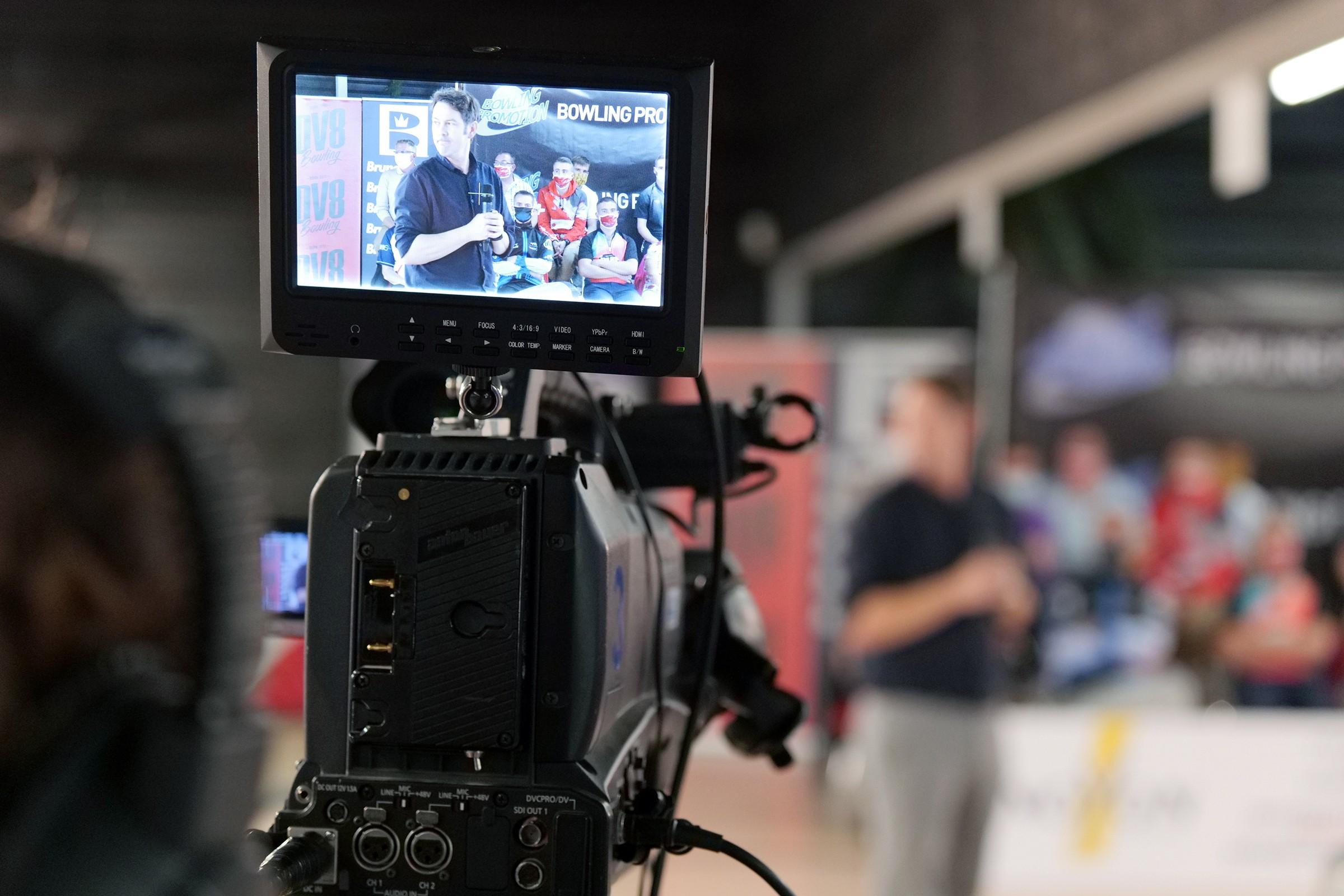 Bruno Bidone TV Presentation (Photo Ruel Alain)