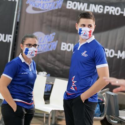 Alexandra Lopes & Valentin Saulnier Team France (Photo Ruel Alain)