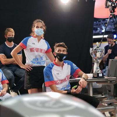 Team Malta before the TV Show (Photo Ruel Alain)