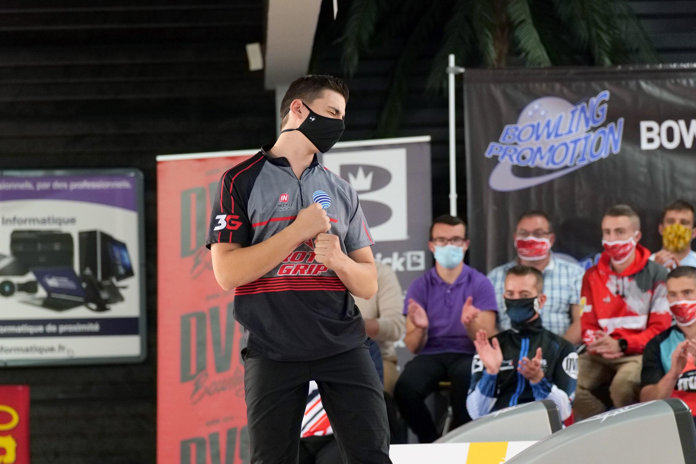 Valentin Saulnier Strike Again ! (Photo Ruel Alain)