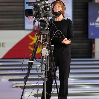 TV Team Test Camera (Photo Ruel Alain)