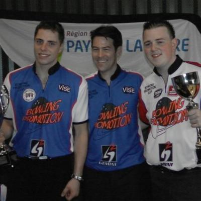 Phil and Bruno with Matt (Winners)