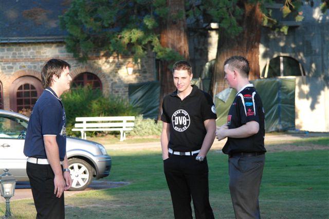 Players before Eurosport Interviews