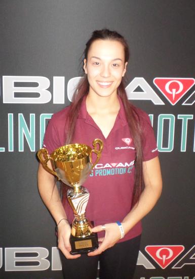 Winner Singles Women's Wendy Bartaire