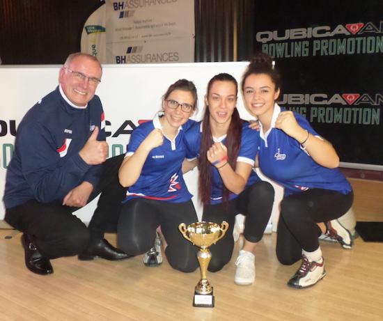 Team France Winners Women Test Match