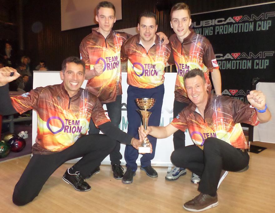 Winners Team Challenge Men's