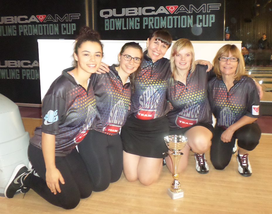 Winners Team Challenge Women's