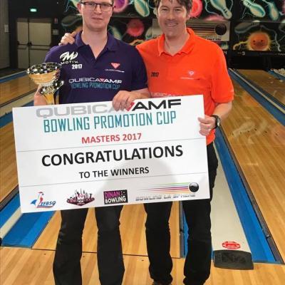 Winner Masters Bram Van Meerbergen