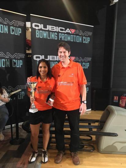 Winner Singles Tania Yusaf