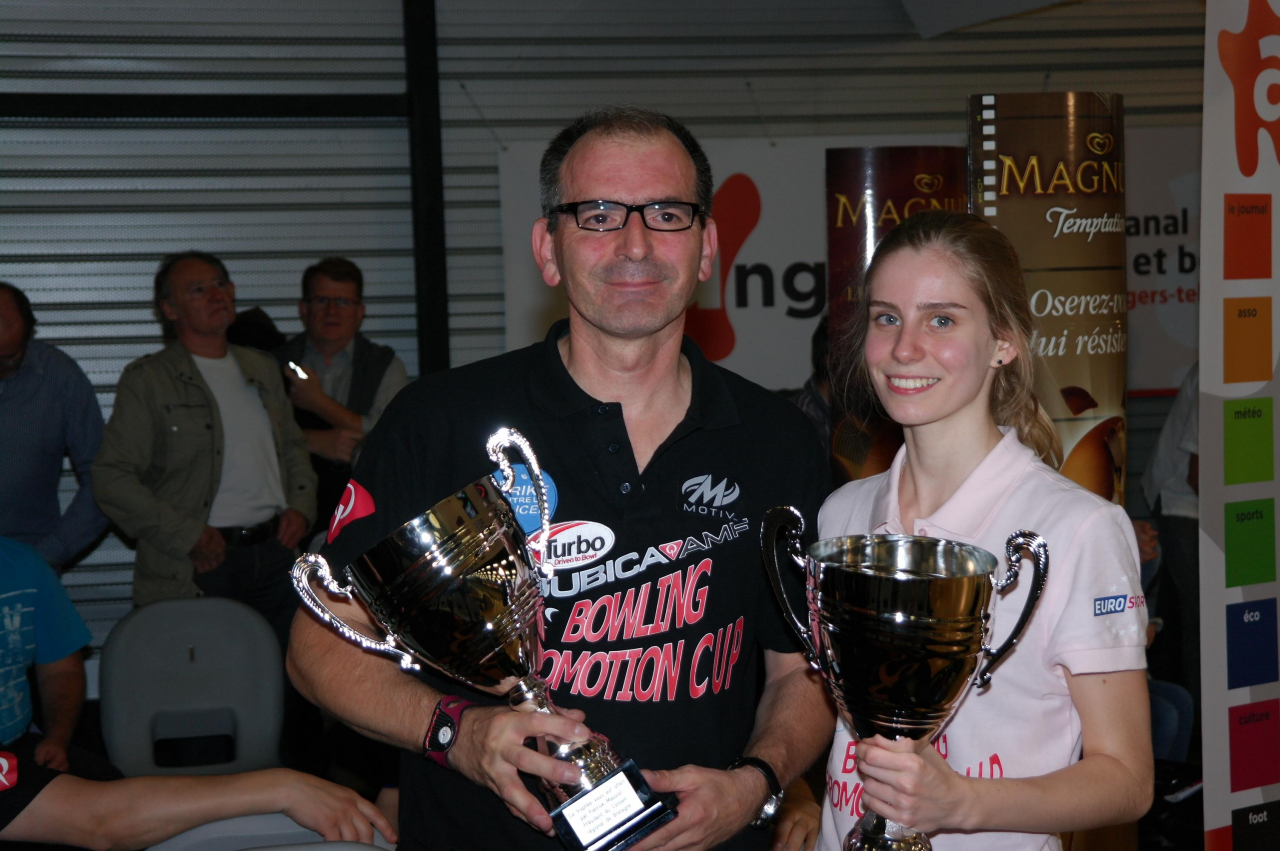 Winners Mixed Doubles Knopp-Voronkova